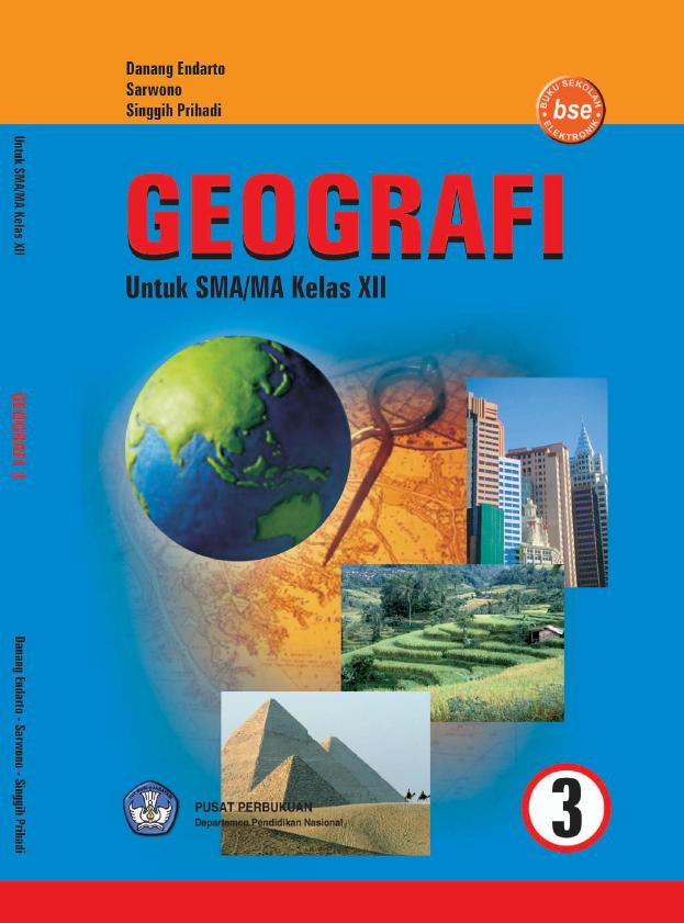 Literasi Digital Geografi Untuk SMA/MA Kelas XII
