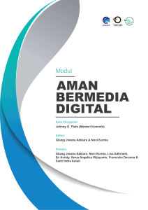 Literasi Digital Modul Aman Bermedia Digital