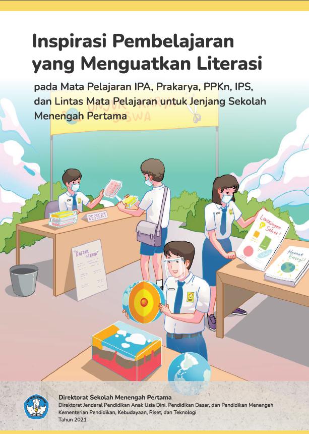 Literasi Digital Modul Literasi pada Mata Pelajaran IPA, Prakarya, PPKn, IPS, dan Lintas Mata Pelajaran
